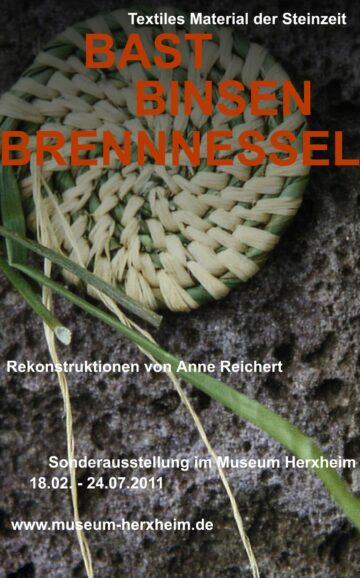 Bast, Binsen, Brennnessel