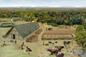 Die Entstehung der Kulturlandschaft vor 7500 Jahren