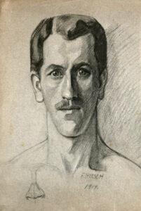 Zeichnung von Franz Hirsch